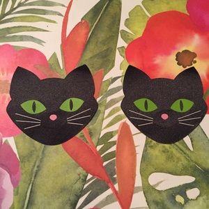 😺New list! 😺 Black cat nipple cover pasties
